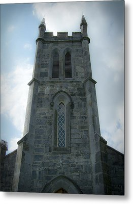 Ardcroney Church County Clare Ireland Metal Print by Teresa Mucha