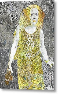 Area Woman Metal Print