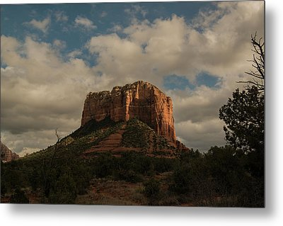 Metal Print featuring the photograph Arizona Red Rocks Sedona 0222 by David Haskett