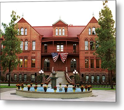 Arizona State July 4th At Old Main Metal Print by Arizona State Athletics
