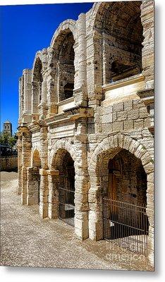 Arles Roman Amphitheater Metal Print