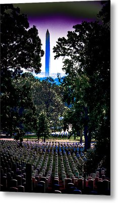 Arlington Metal Print by David Hahn