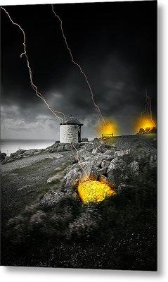 Armageddon Metal Print by Jaroslaw Grudzinski