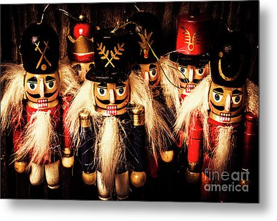 Army Of Wooden Solders Metal Print by Jorgo Photography - Wall Art Gallery