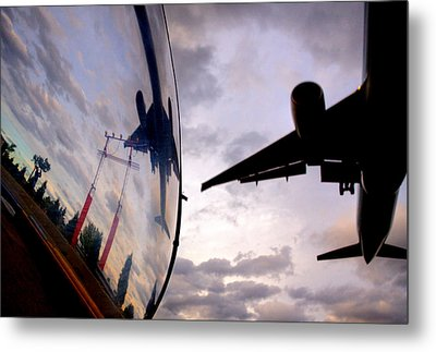 Arrival...  Metal Print by Russell Styles
