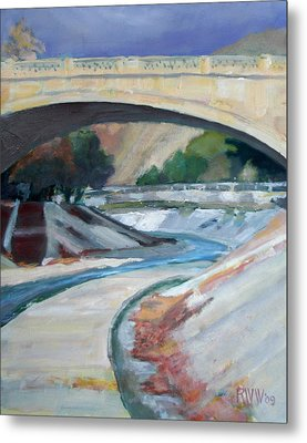 Arroyo Seco Metal Print by Richard  Willson
