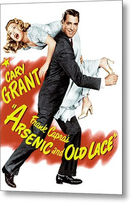 Arsenic And Old Lace, Priscilla Lane Metal Print by Everett