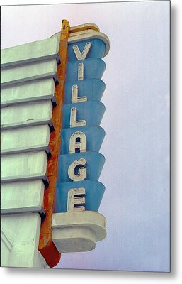 Metal Print featuring the photograph Art Deco Village by Matthew Bamberg