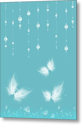 Art En Blanc - S11a Metal Print by Variance Collections