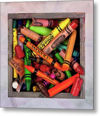 Art In A Box Metal Print by Tom Mc Nemar