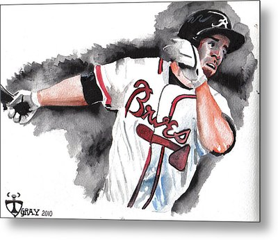 Art Of The Braves Metal Print by Torben Gray