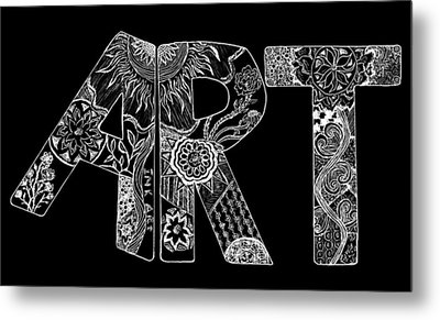 Art Within Art Metal Print