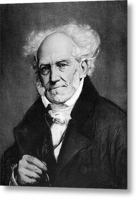 Arthur Schopenhauer Metal Print by Granger