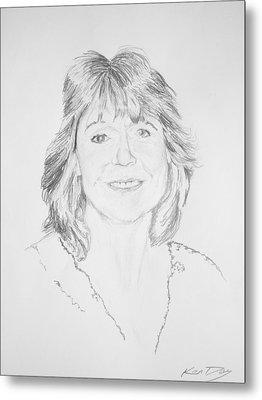 Artist Kelly Goswick Metal Print by Ken Day