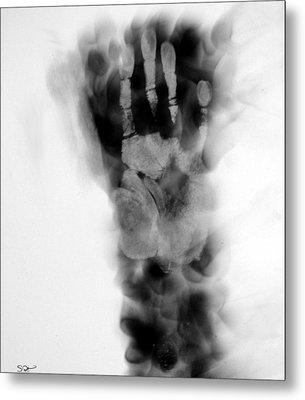 Artist's Hand X-ray Metal Print