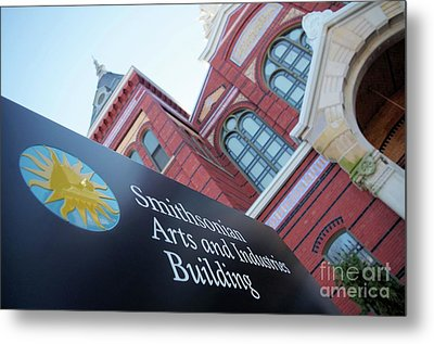 Arts And Industry Museum  Metal Print