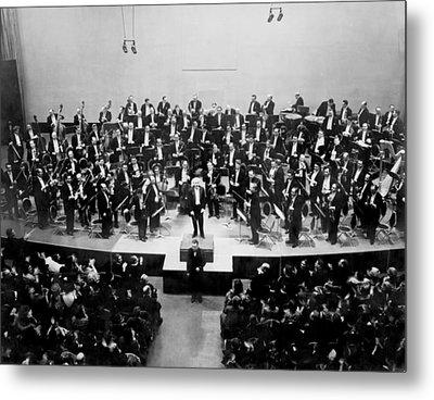 Arturo Toscanini 1867-1957 Receives Metal Print by Everett