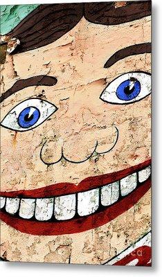 Asbury Tillie Smile Metal Print
