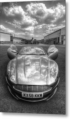 Aston Martin Dbs Metal Print by Yhun Suarez