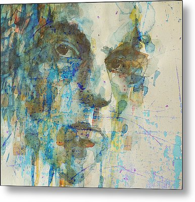 Metal Print featuring the mixed media Astral Weeks by Paul Lovering