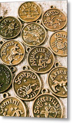 Astrology Charms Metal Print by Jorgo Photography - Wall Art Gallery