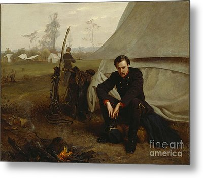 At The Front Metal Print by George Cochran Lambdin
