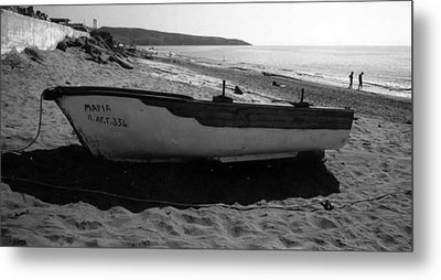 At The Sea Of Libya Metal Print by Susan Chandler