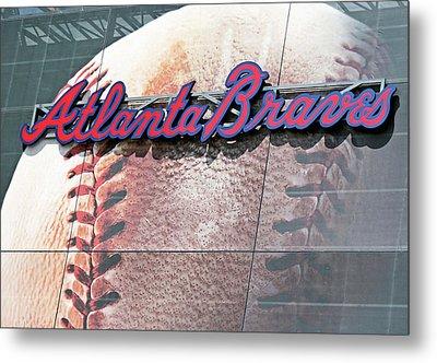 Atlanta Braves Metal Print