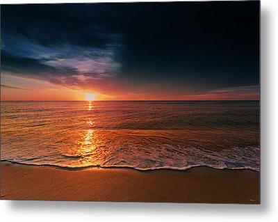 Atlantic Ocean Sunrise 2015 Metal Print