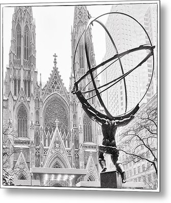 Atlas And The Cathedral Metal Print by Vicki Jauron