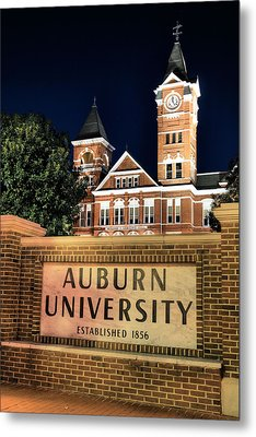 Auburn University Metal Print by JC Findley