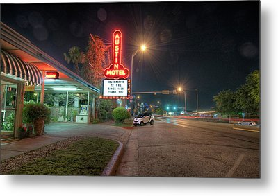 Metal Print featuring the photograph Austin Motel by John Maffei