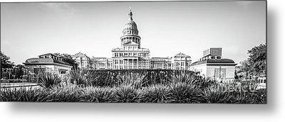 Austin Texas State Capitol Building Panorama Metal Print