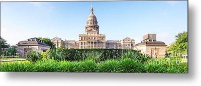 Austin Texas State Capitol Panorama Metal Print