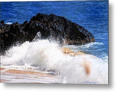 Australia Beach 2738 Metal Print by PhotohogDesigns