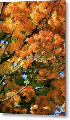 Autumn Metal Print by Art Spectrum