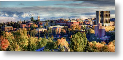 Autumn At Wsu Metal Print