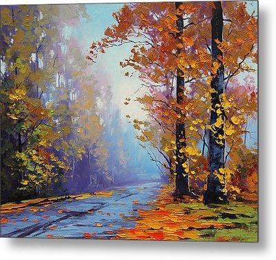 Autumn Colours Metal Print by Graham Gercken