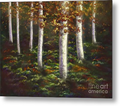 Autumn Ghosts Metal Print by Amyla Silverflame