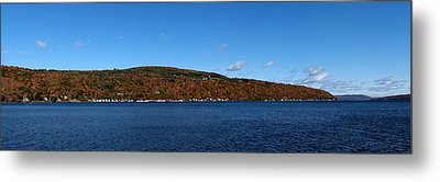 Autumn In The Finger Lakes Metal Print by Joshua House