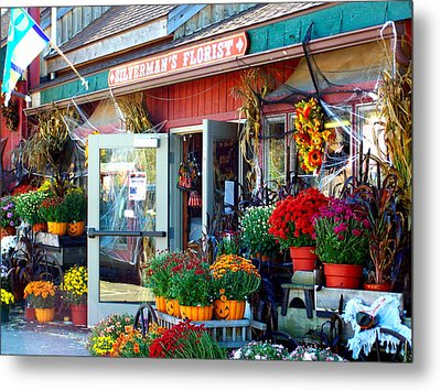 Autumn Is In The Air Metal Print by Laura DAddona