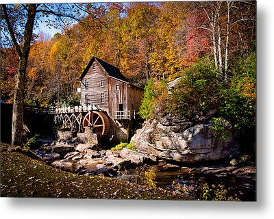 Autumn Morning In West Virginia Metal Print by Jeanne Sheridan