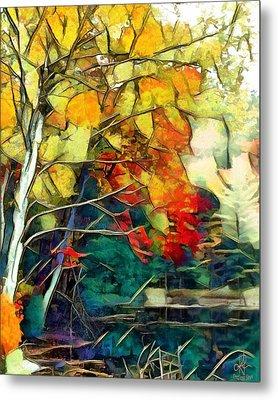 Metal Print featuring the digital art Autumn by Pennie McCracken