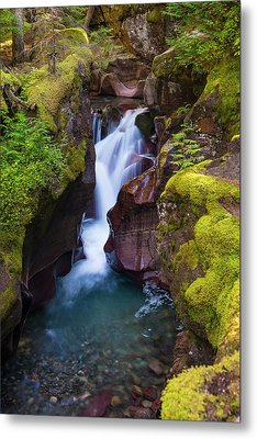 Metal Print featuring the photograph Avalanche Gorge 4 by Gary Lengyel