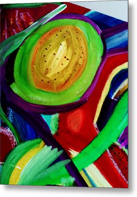 Avocado  Metal Print by HollyWood Creation By linda zanini