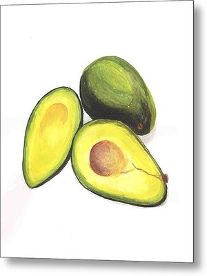 Avocados Metal Print by David Seter
