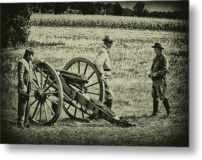 Awaiting Orders Metal Print by Bill Cannon