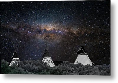 Awesome Skies Metal Print by Carolyn Dalessandro
