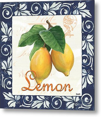 Azure Lemon 1 Metal Print