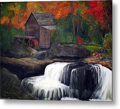 Babcock Mill Metal Print by Timothy Smith